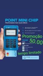 Maquina de cartao POINT CHIP         $50.00