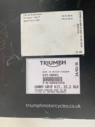Manopla Triumph 1200 Nova. Ano 2015 2016