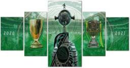Quadro em Mosaico Palmeiras Tríplice Coroa