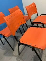 Kit c/6 Cadeiras Plásticas WP