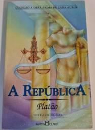 Título do anúncio: A República - Platão