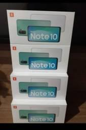 Xiaomi note 10 com tela Amoled