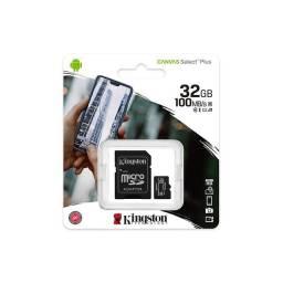 Título do anúncio: Cartão de memória Kingston 32GB Classe 10