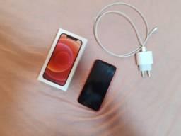 iPhone 12, 128gb com carregador e  película