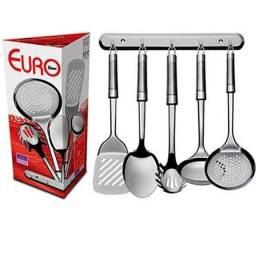 Conjunto de utensílios de cozinha Euro - 6 peças