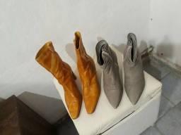 Duas botas bem arrumadas numero 36 pra vende logo
