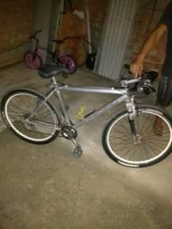 Bicicleta em alumínio top