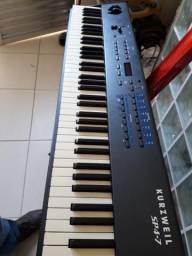 Teclado Stage Piano Kurzweil Sp4-7 76 Teclas