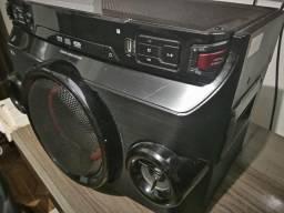 Mini System LG OM4560 nota fiscal 6 meses de garantia