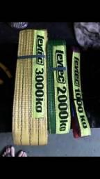 10 cintas de carga,3000kg,2000kg,1000kg