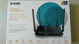 D-Link 1200Mbps sem uso