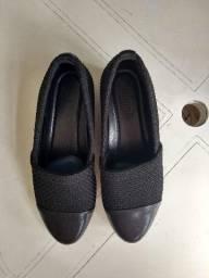 Sapato Social Anabela MeiaSola