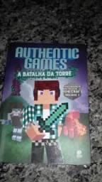 Livro AuthenticGames A Batalha da torre
