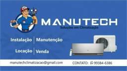 Manutec. Ar-Split (Soluções em Climatização)