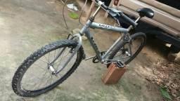 Vendo Bicicleta Prata Aro 26
