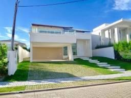 Vendo no Alphaville Fortaleza casa Duplex nova com 5 suítes / 4 vagas e 486m²