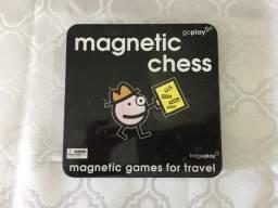 Jogo de xadrez magnético - usado