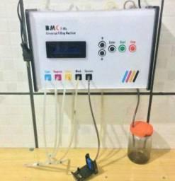 Máquina para recarga de cartuchos de tinta