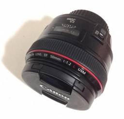 Lente 50 mm 1.2 Canon