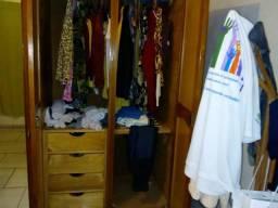 Guarda roupas de madeira 5 portas** espelho