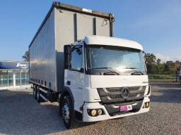 Mercedes-benz Atego 2426 2013 Com Sider - 2013
