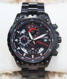 Relógio masculino original Belushi luxo topíssimo