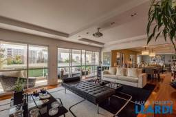 Apartamento à venda com 4 dormitórios em Brooklin, São paulo cod:480972
