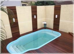 Decks em piscina