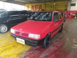 Fiat/ Uno Mille 1.0 gasolina 2pts, vermelho - 1995
