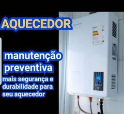Instalação coifa aquecedor Central de gás