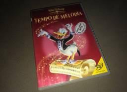 DVD Tempo de Melodia - Disney - Raríssimo