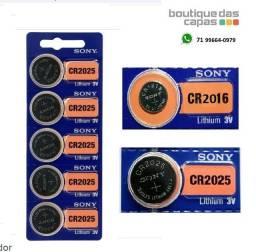 Título do anúncio: Bateria pilha Sony Cr 2025 e 2016 3v Lithium C original