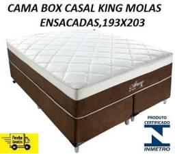 Oferta Imperdivel de Cama Box King(1,93x2,03)Nova Com Frete Gratis!!