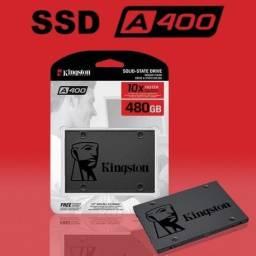 Hd SSD Kingston 480Gb A400, 10x De 45,00. Loja Física