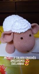 Vendo ovelhinha de crochê a pronta entrega