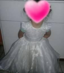 Vestido de batizado ou daminha