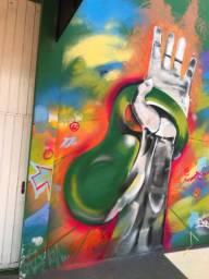 Grafite arte, arte de giz , pintura