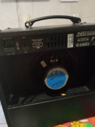 Vendo caixa amplificada marca meteoro semi nova por 300reais
