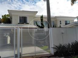 Casa à venda com 5 dormitórios em Barra da tijuca, Rio de janeiro cod:824885
