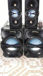 4 caixas de som