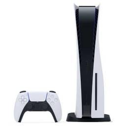 Console Sony Playstation 5 PS5 8K Branco com Disco CFI1014-A ou 12X R$ 503,83 Lacrado
