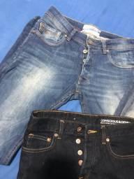 3 calças SUPER SLIM TAM 40 ( ler descrição )
