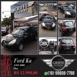 Ford - ka 2009 - 1.0 zetec rocan -basico - r$12.990