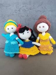 Bonecas em Amigurumi