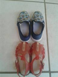 Vendo Sapato Do Minions E Melisa