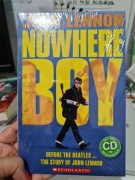 John Lenon Nowhere Boy - livro