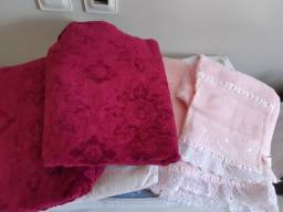 Toalhas de banho e lençol Queen