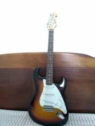 Guitarra Giannini sonicx e Caixa Amplificadora