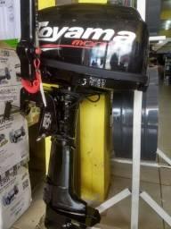Motor popa gasolina 5.8hp 2t Toyama.