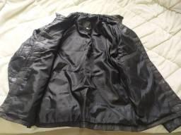 Jaqueta de couro Tam P